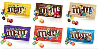 FREE M&Ms Candy