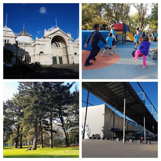 【墨尔本景点】墨尔本亲子游@Day8 Part 3 联合国世界文化遗产之卡尔顿花园 Carlton Gardens