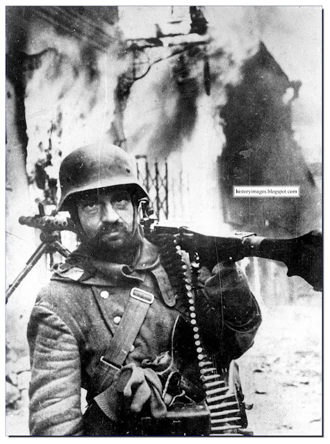 German machine-gunner Zhitomir Ukraine November 1943
