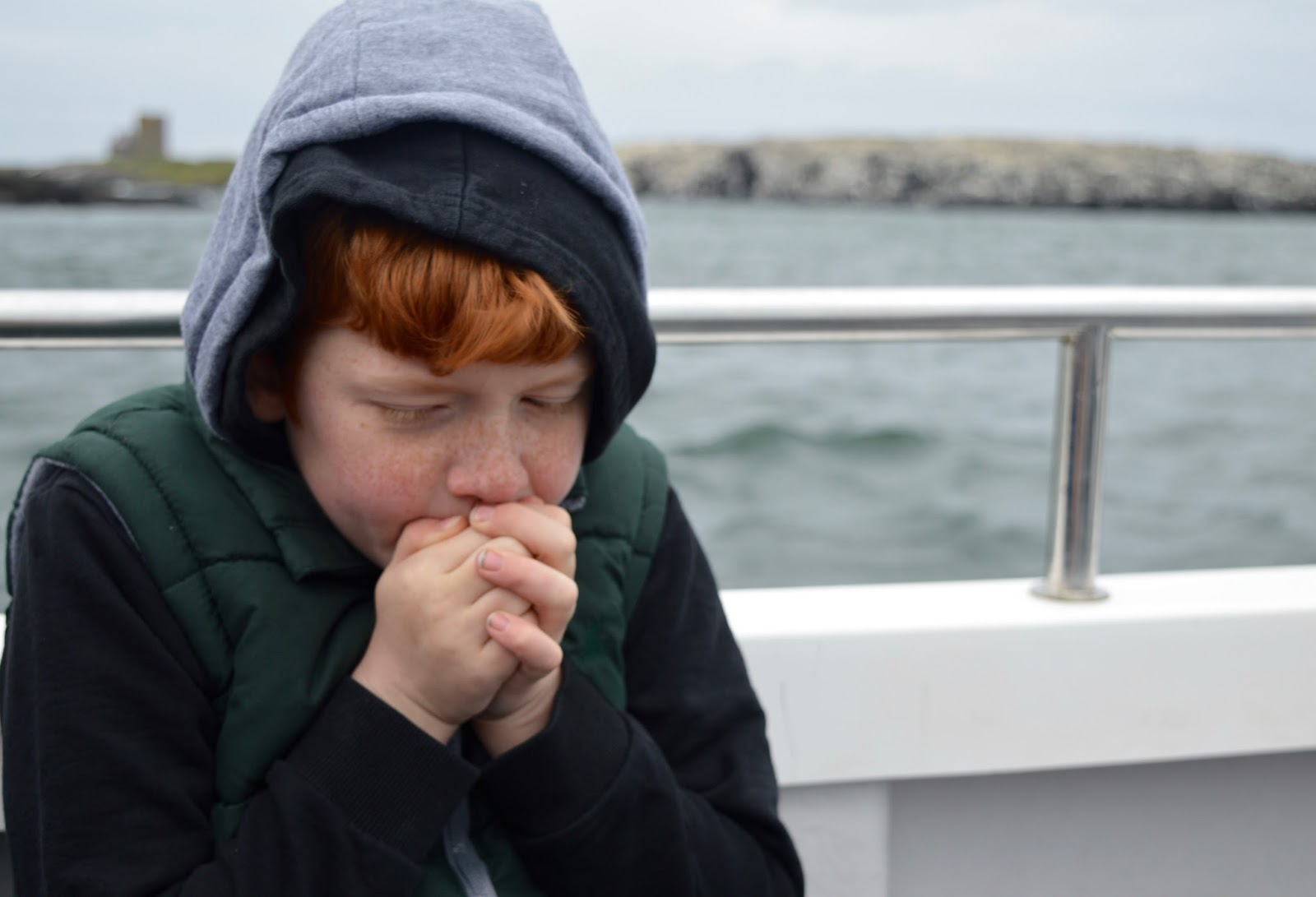 Farne Island Boat Trips with Serenity | A review and what to expect with kids - cold hands