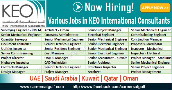 Various Jobs in KEO International Consultants | Careers at ...
