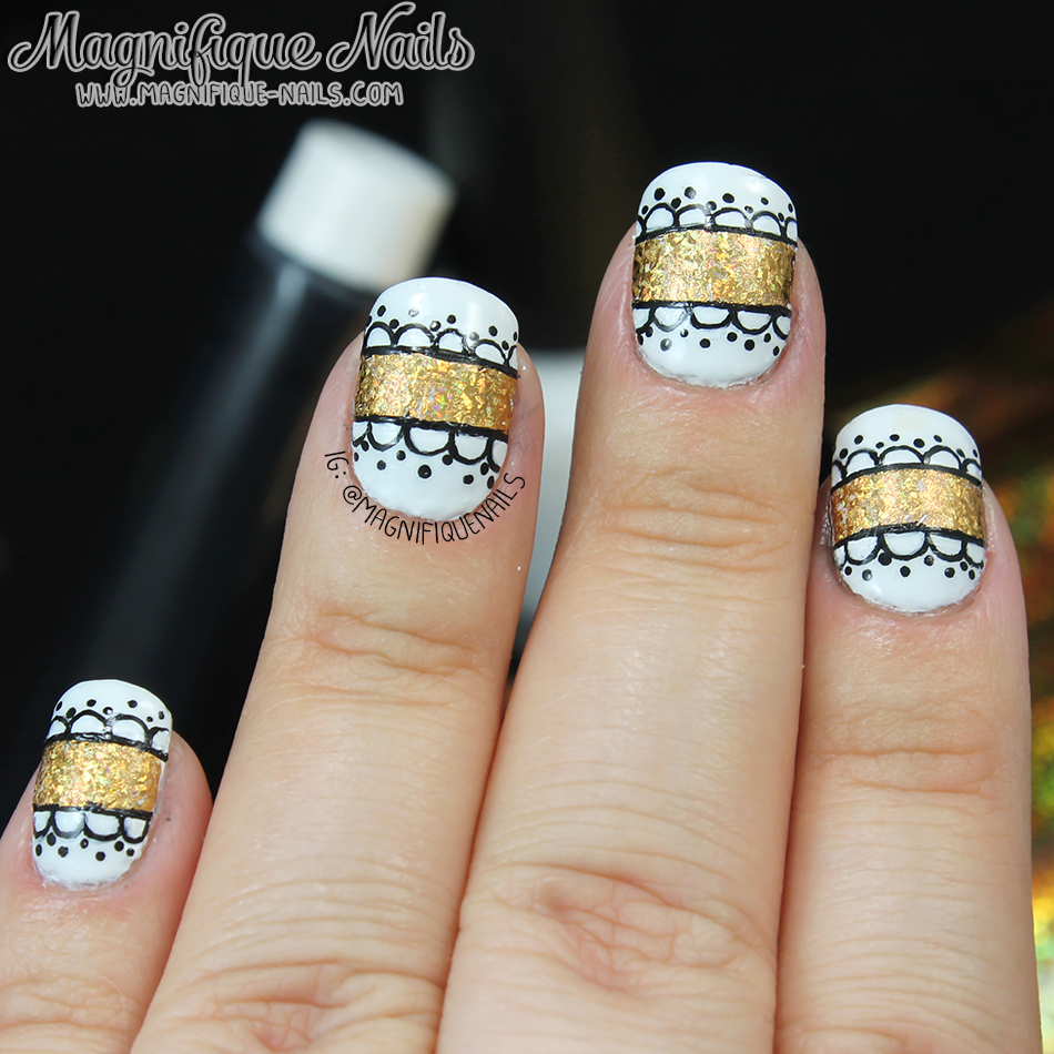 Magically Polished |Nail Art Blog|: Born Pretty Store: Gold