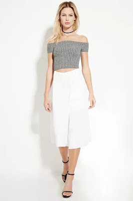 Pleated culottes, $6 from Forever 21
