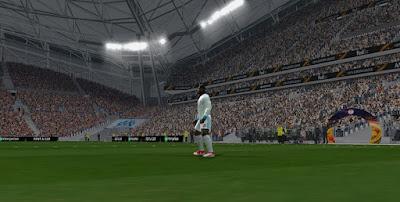 PES 6 Stadium Stade Velodrome Europa League Version 2017/2018