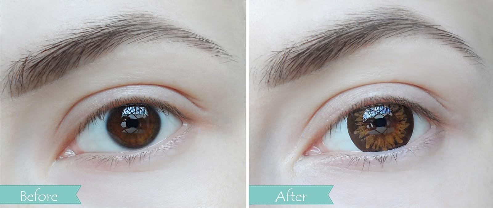 Magic - Eye Easel Contact Lens by Klenspop | January Girl