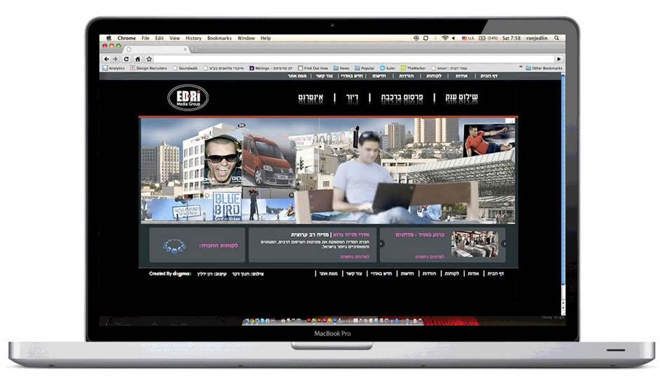 עיצוב גרפי, עיצוב אתרים, עיצוב אתר תדמיתי