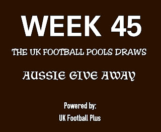 week 45 uk football pools draws on coupon