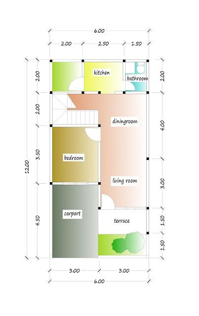 1st floor plan of beautiful house plan 13