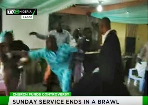 Confusion in Lagos Church as Pastors Fight Dirty Over N16.5m Land Commission...See Details