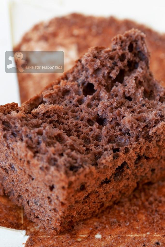 Bake For Happy Kids Chocolate Banana Chiffon Cupcakes