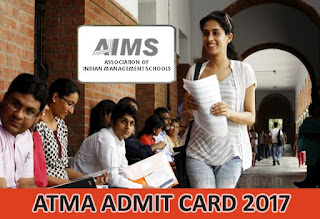 ATMA Admit Card 2017, ATMA 2017 Admit Card Download