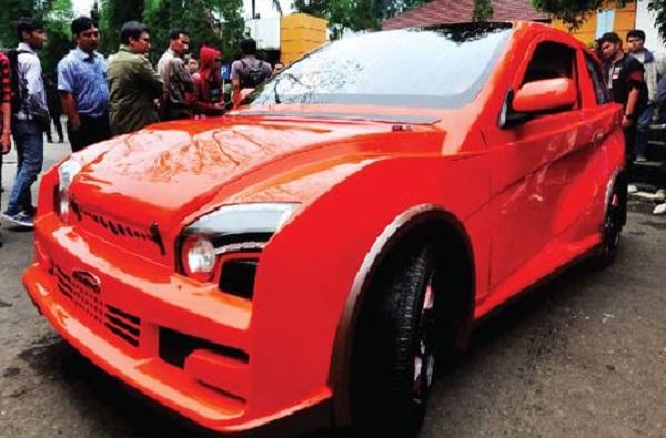 Inilah Mobil Listrik EVHERO Hasil Karya Anak Bangsa