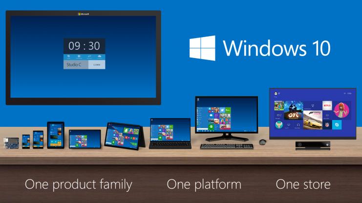 研調:Windows 10雖強打跨平台,但市場逆轉幅度有限