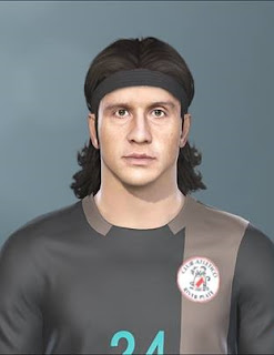 PES 2019 Faces Germán Burgos By DNA+I Facemaker
