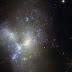 Bentuk Tak Beraturan dari Galaksi-galaksi yang Bertabrakan