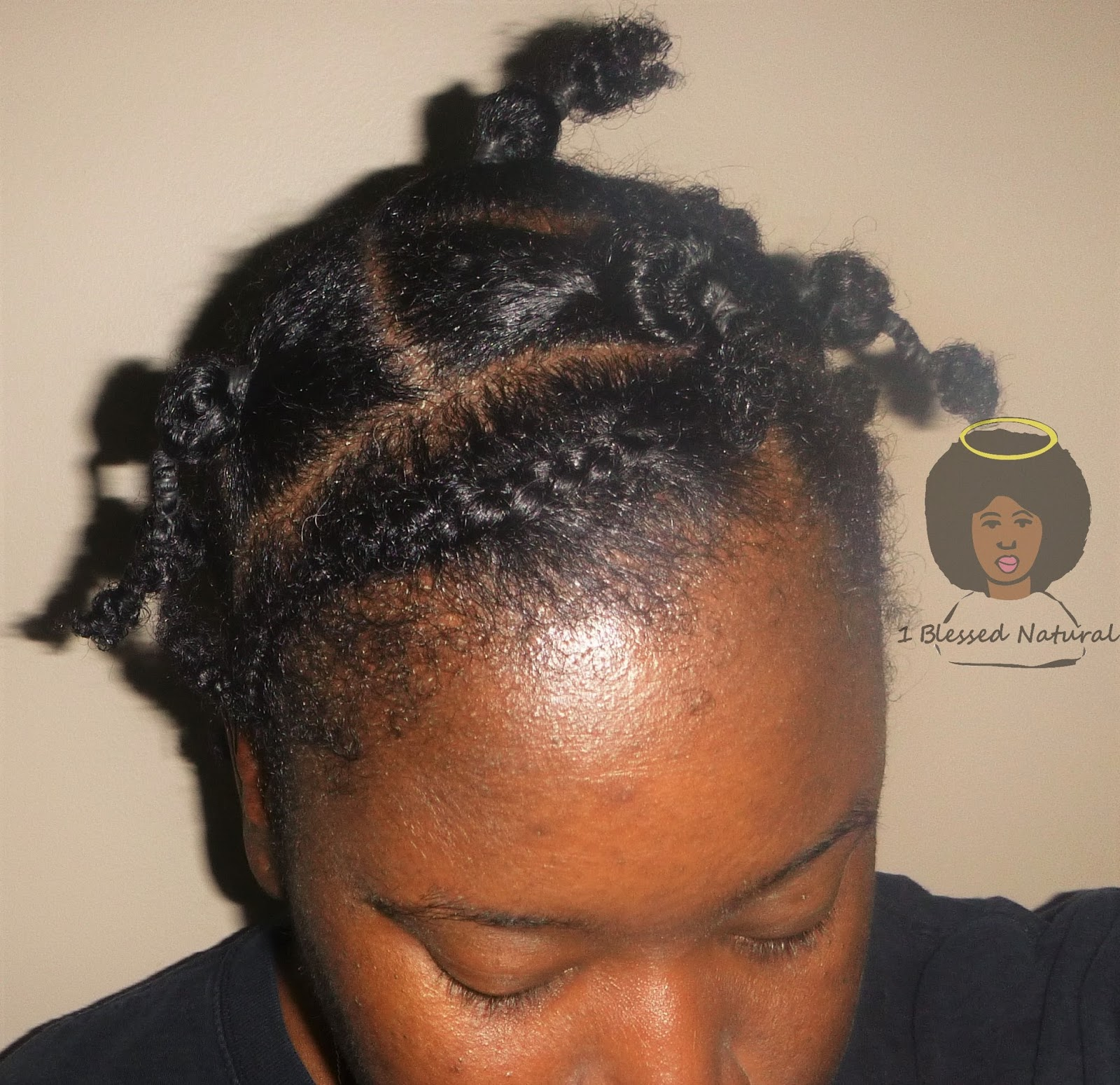 Twa Stretching Natural Hair With Rubber Bands