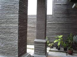 7 Jenis Batu Alam Untuk Tiang Depan Teras Rumah