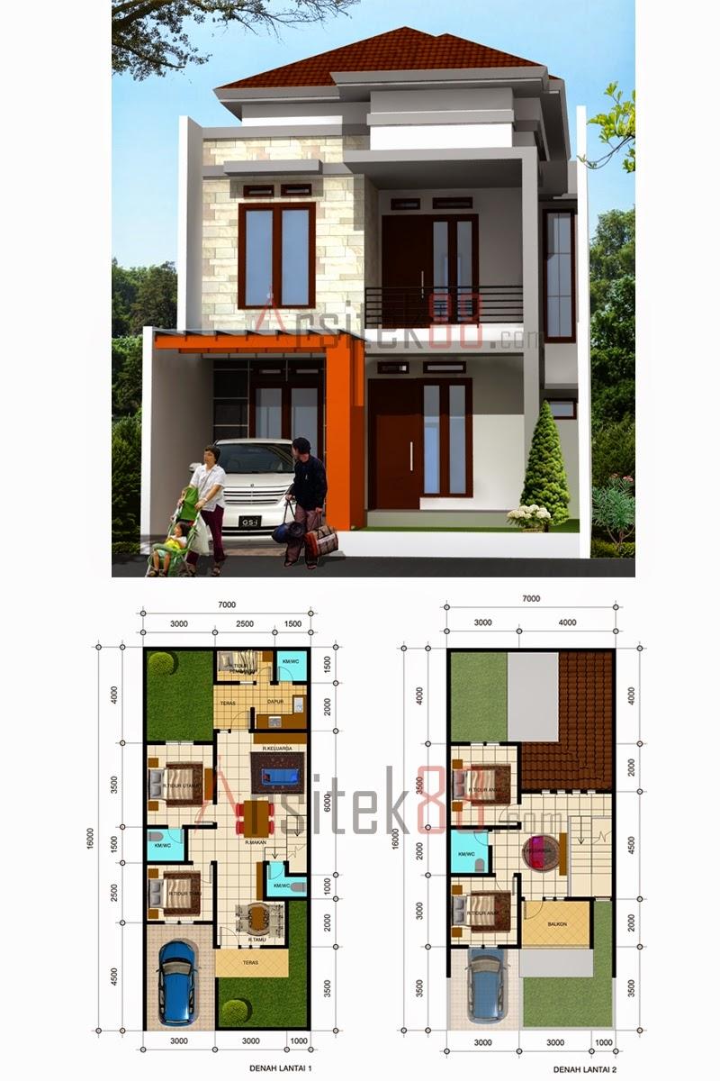 Desain Rumah Minimalis 2 Lantai 6 X 15 Expo Desain Rumah