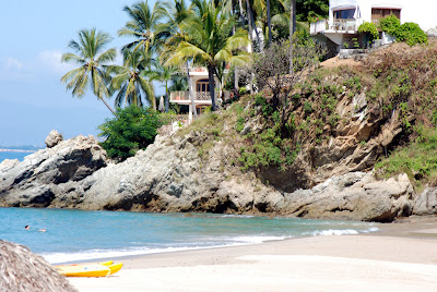 Puerto Vallarta secluded beach