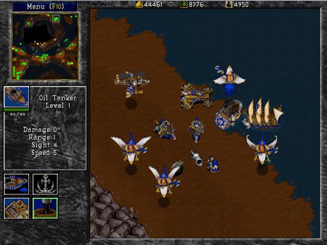 Warcraft 2 Fun Screen Quiz