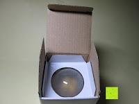 auspacken: LED-Filament-Lampe RETROFIT CLASSIC (ersetzt 60 Watt) E27 warmweiß, Lebensdauer 30 Jahre! 6 Watt, 550 Lumen, 2 Glühfaden, MATT [Energieklasse A++]