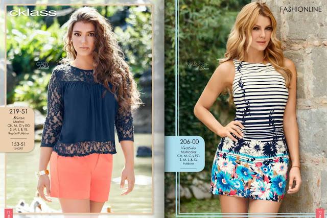 Catalogo Cklass ropa 2016 primavera verano