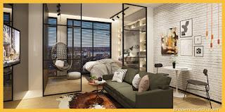 Design Apartemen Upper West BSD