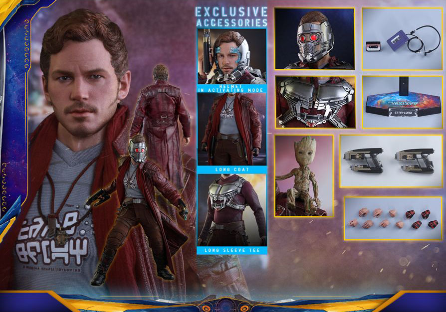 GUARDIANS OF THE GALAXY VOL.2 - STAR-LORD (Deluxe Version) 16