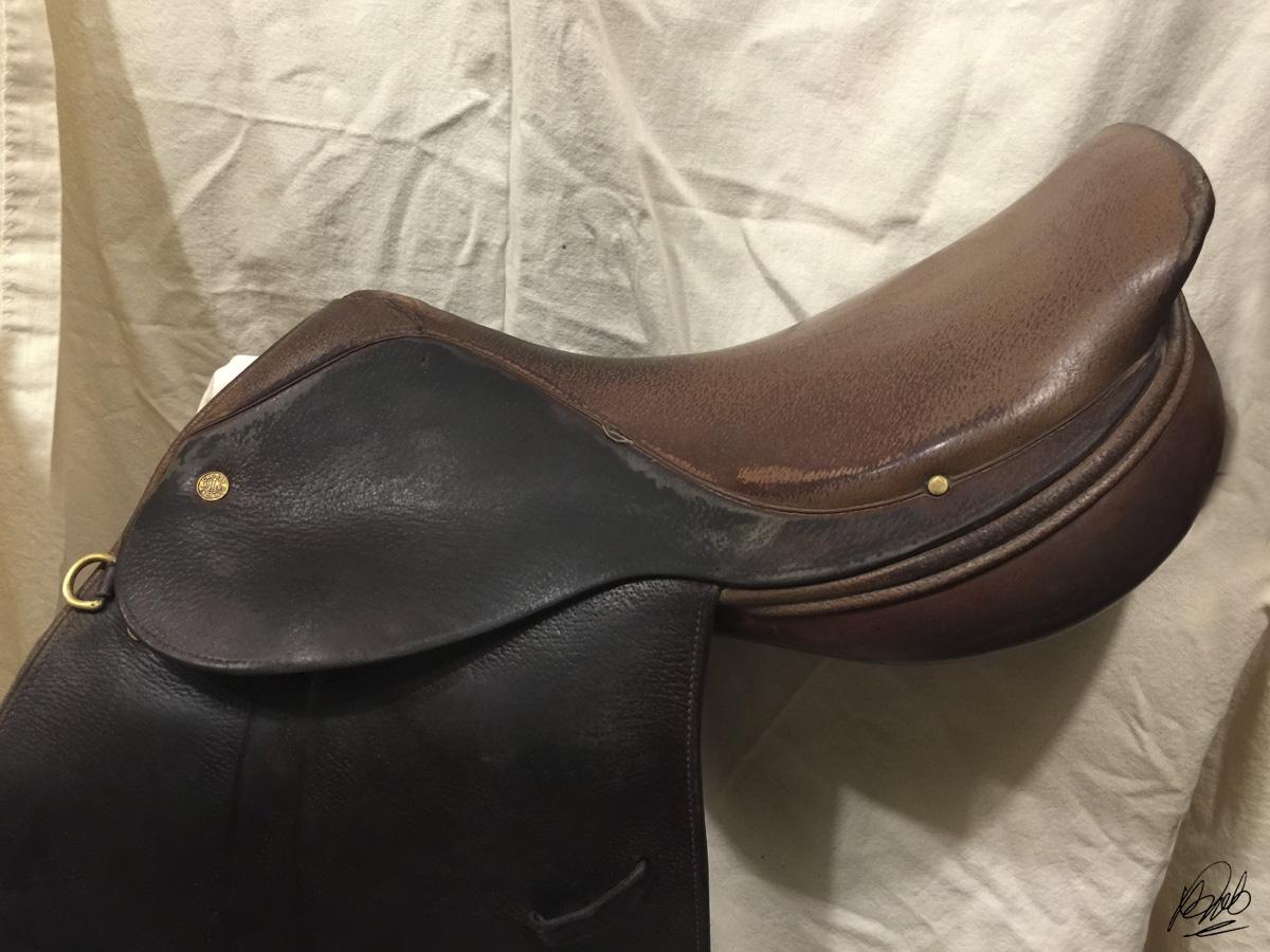 vinegaroon applied to saddle flaps