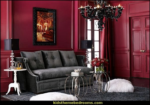 Victorian Boudoir Style Bedroom Decorating Ideas Moulin Rouge Style