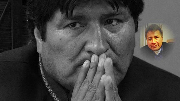Evo Morales Ayma y Milton Paniagua León