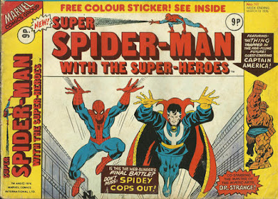Super Spider-Man with the Super-Heroes #161, Dr Strange