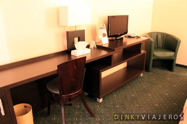 Hotel Ivbergs Premium - Escritorio