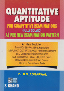 (2017) RS Agarwal Aptitude PDF Free Download link