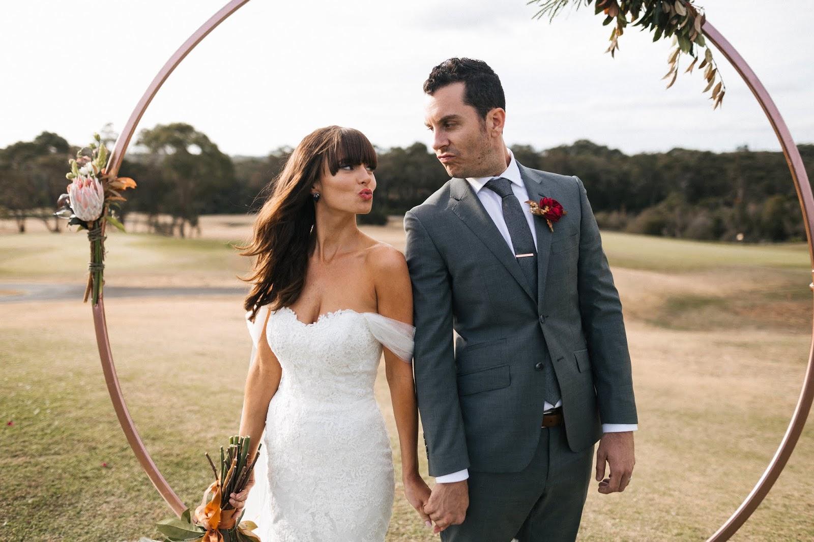LOVE: CARLEE + DENNIS | LUSH INDUSTRIAL WEDDING CENTRAL COAST NSW