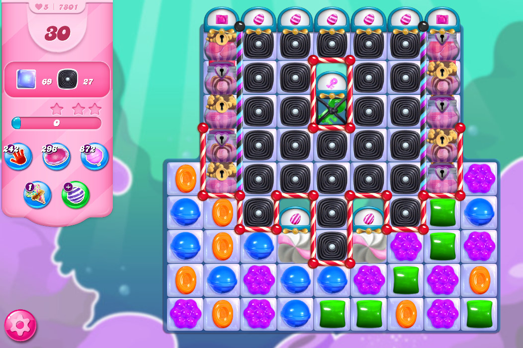 Candy Crush Saga level 7801