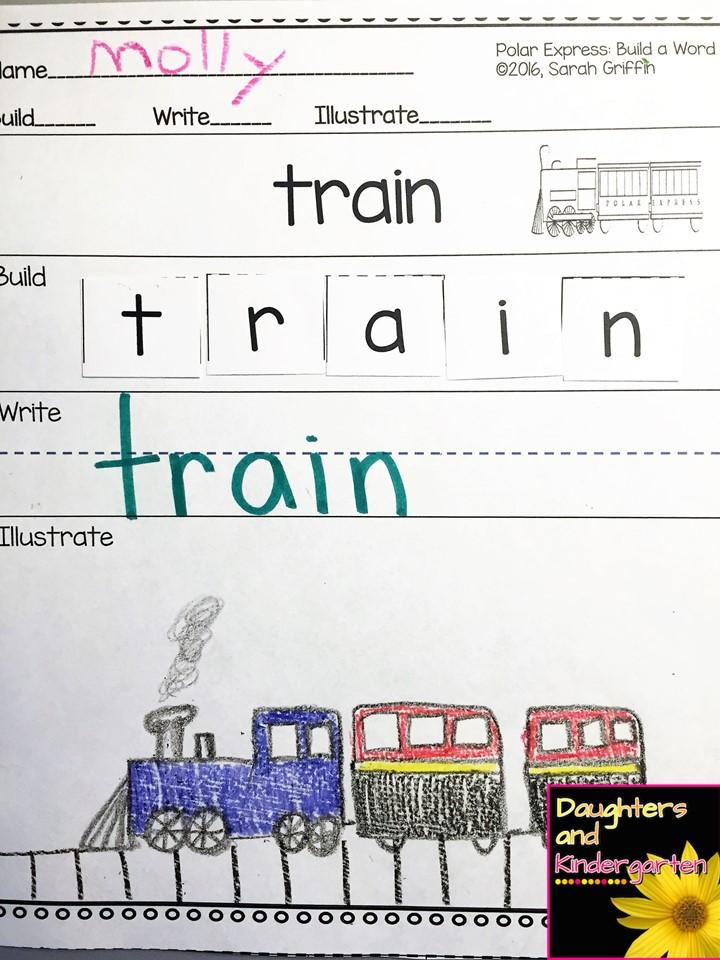 Daughters and Kindergarten Polar Express – Polar Express Math Worksheets