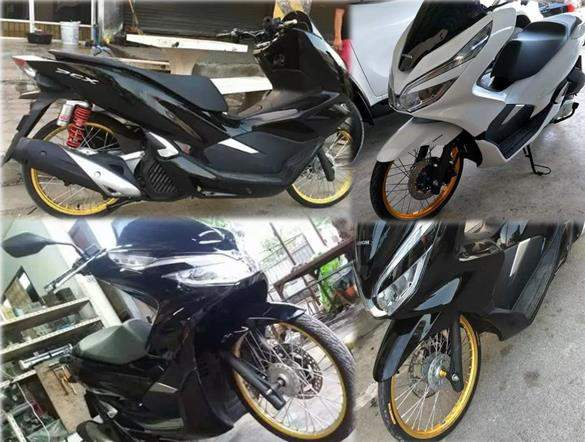 All_new_PCX_150_Velg_Jari_Jari_Ban_Cacing