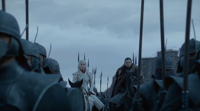 Jon, Daenerys trailer juego de tronos octava temporada