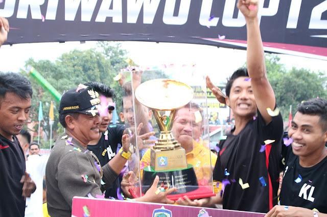 Berjalan Lancar, Bupati Apresiasi Turnamen Marioriwawo Cup I