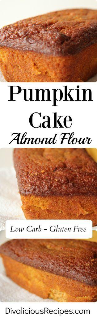 Pumpkin Cake (Almond Flour)