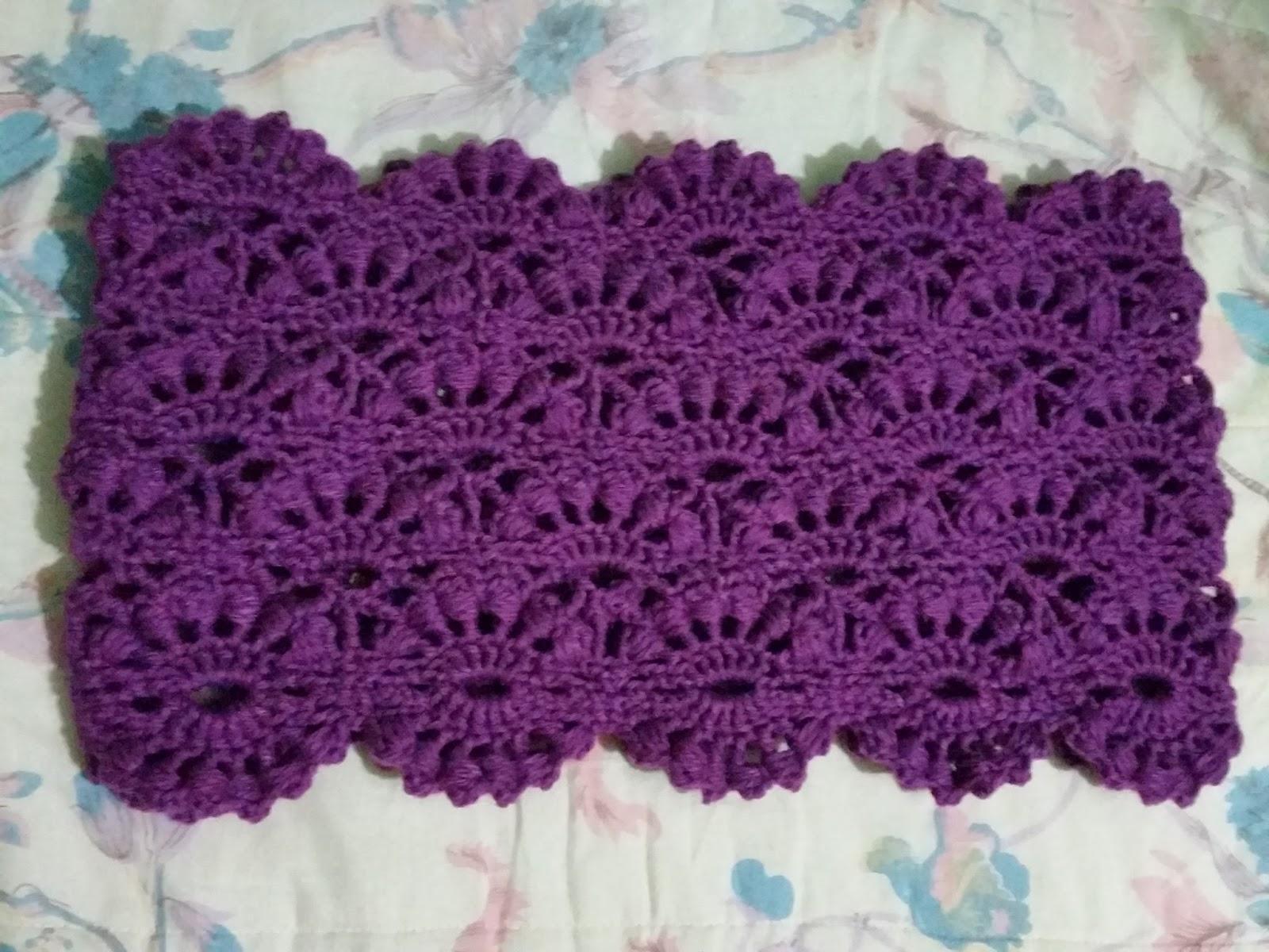 Arañito tejedor: Bufanda o cuello infinito en crochet