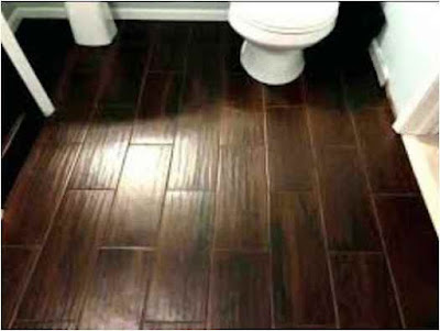 Bathroom floor idea tile porcelain