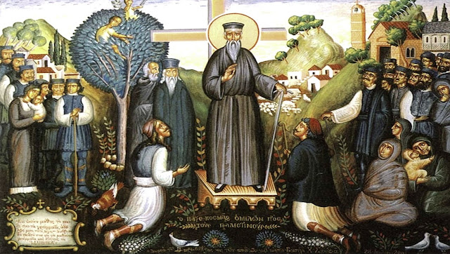 Η τελευταία περιοδεία του αγίου Κοσμά το 1779 στην επαρχία Παραμυθιάς και οι επιστολές του...
