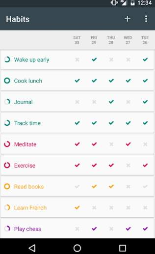 Loop Habit Tracker for Android