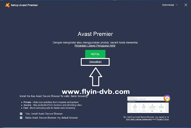 Cara Instal Antivirus Avast Premier tahap 2