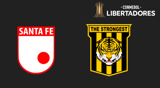Independiente Santa Fe vs. The Strongest - Copa Libertadores