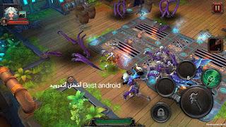 تحميل لعبة القتال Dungeon Hunter 5 مهكرة كاملاً للاندرويد