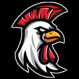 mentahan logo ayam petarung