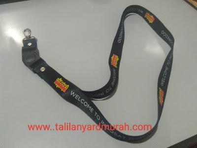 Tali gantungan lanyard id card indosat